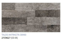 Grespania Talos Antracite  30 x 60, € 37.50 pm2