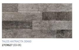 Grespania Talos Antracite  30 x 60, € 37.50 pm2