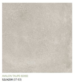 Grespania Avalon Taupe  60 x 60, € 34.50 pm2