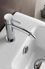 Hotbath LADDY 018,   Wastafelmengkraan met draaibare uitloop zonder waste, L018, L018CR