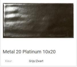 Metal 20 Platinum 10 x 20 Prijs € 92,= pm2