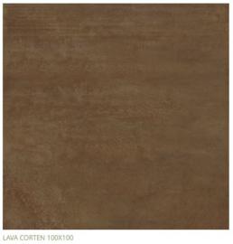 Grespania Lava Corten 100 x 100 cm, 3.5 mm dik