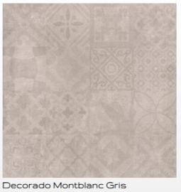 Cristacer Montblanc decorado gris 60 x 60 aanbieding voor € 29.95 pm2 Prijs per verpakking