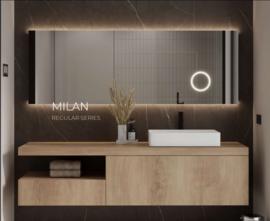 Martens Designs Milan 800x700 mm, indirecte verlichting onder en boven(3x)