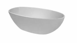 Wiesbaden Ellips vrijstaand acryl ligbad 180 x 90 wit