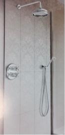 Hotbath IBS6A Complete therm. inbouwset Amice chroom met 2 weg-stop-omstel chroom
