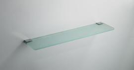 Wiesbaden Eris glazen planchet chroom Artikelnummer: 28.4006