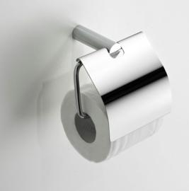 Wiesbaden Ida toiletrolhouder met klep chroom Artikelnummer: 28.4054