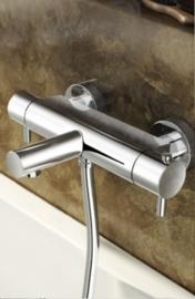 Hotbath Laddy 022GN, Opbouw badthermostaatkraan met uitloop, Laddy022GN