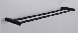 Wiesbaden Ida dubbele handdoekrek 60cm zwart Artikelnummer: 28.5058