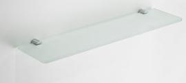Wiesbaden Ida glazen planchet chroom Artikelnummer: 28.4056