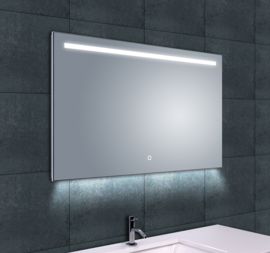 Wiesbaden Ambi One dimbare Led condensvrije spiegel 1000x600