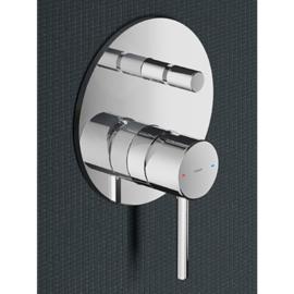 hotbath B032GN inbouw douche/badmengkraan met automatische omstelinrichting