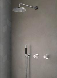 Hotbath IBS21BL, Complete inbouwset Cobber, IBS21 BL, niet thermostatisch!