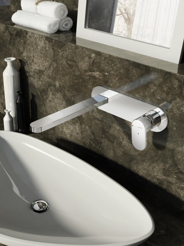Hotbath Friendo 006 Inbouw wastafelmengkraan met rechte uitloop