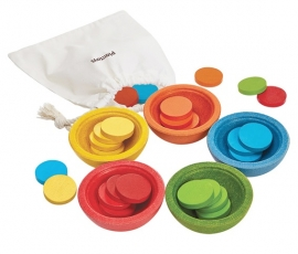 Plan Toys Sorteer en Tel Set