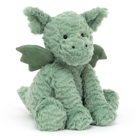 Jellycat Knuffel Draak 23cm, Fuddlewuddle Dragon