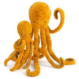 Moulin Roty Knuffel Octopus/Inktvis Groot, 'Tout autour du monde'