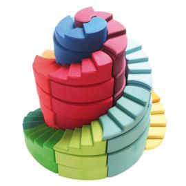 Grimm's Blokkenset Spiraal Trap Toren
