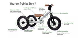 Trybike Steel loopfiets wit
