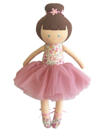Alimrose Knuffelpop, Big Ballerina Rose Garden, 50 cm