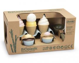 Dantoy Bioplastic Ijs Set, 15-Delig
