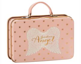 Maileg metalen koffertje Roze met gouden sterretjes
