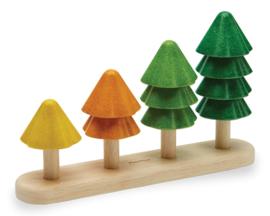Plan Toys Sorteer en tel - Boompjes