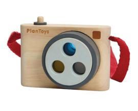 Plan Toys Houten Camera met kleurlens