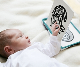 Wee Gallery Kijkkaarten, Baby Art Cards Pets