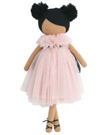 Alimrose Knuffelpop, Valentina Pom Pom Doll Sparkle Pink, 48 cm