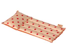 Maileg Luchtbed voor muizen, Air mattress, Mouse - Red dot