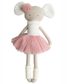 Alimrose Knuffel Muis, Missie Mouse Ballerina Large, 50cm