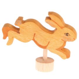 Grimm's Decoratiefiguur / Steker Haas springend