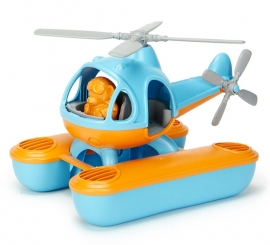 Green Toys Water-helicopter 'Seacopter' oranje