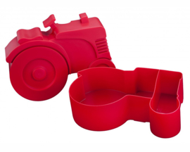 Blafre Lunchtrommel Tractor Rood