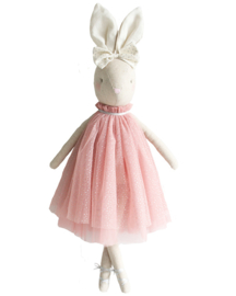 Alimrose Knuffel Konijn, Daisy Bunny - Blush Sparkle, 48 cm