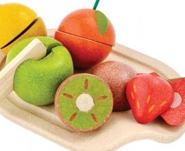Plan Toys Houten Snijset Fruit