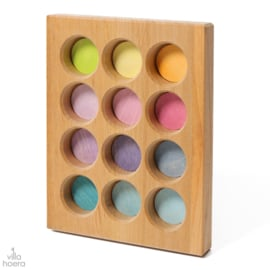 Grimm's Houten Sorteerbord Pastel