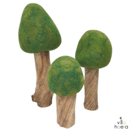 Papoose Set Bomen 'Zomer', 3 stuks
