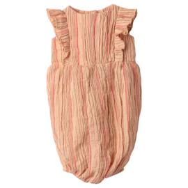Maileg gestreepte Jumpsuit voor konijn Size 5, Roze