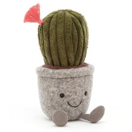 Jellycat Knuffel Cactus, Silly Succulent Cactus, 19cm