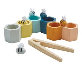 Plan Toys behendigheidsspel Bijenkorf, Beehives, Orchard