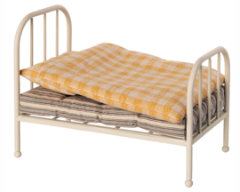 Maileg metalen bed, Vintage Bed - Teddy Junior, 20 cm