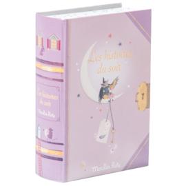 Moulin Roty Verhaaltjeslamp in boek 'Il etait une fois'