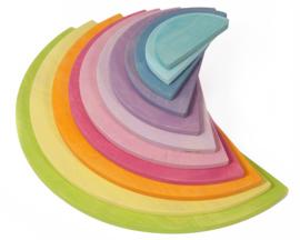 Grimm's houten Halve Cirkels, Pastel kleuren