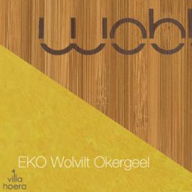 Wobbel original bamboe - vilt mosterd