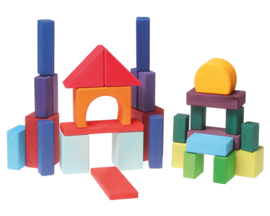 Grimm's Blokkenset Geometrisch, 30-delig