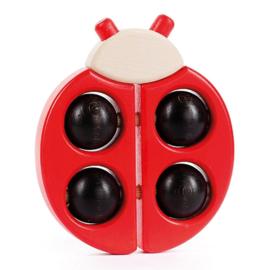 Bajo Houten Rammelaar lieveheersbeestje, rood