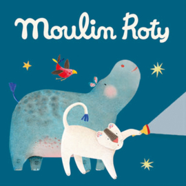 3 extra schijfjes voor Moulin Roty Verhaaltjeslamp, Les Papoum